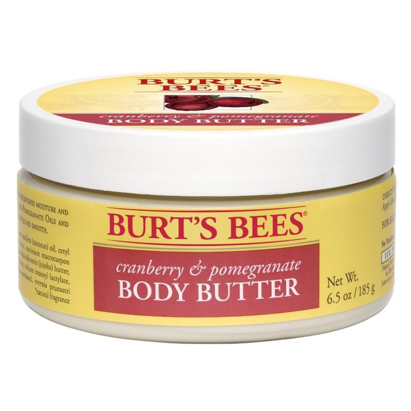 Burt's Bee's Cranberry Pomegranate Body Butter 185g | eBay