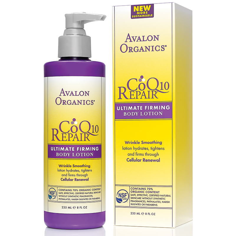 Organic firming body lotion