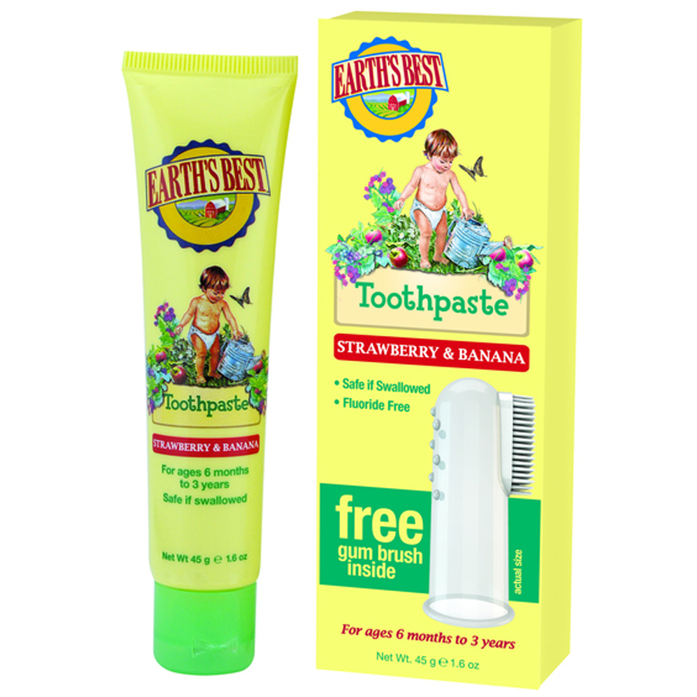 Earth S Best Toddler Toothpaste From Jason Wwsm