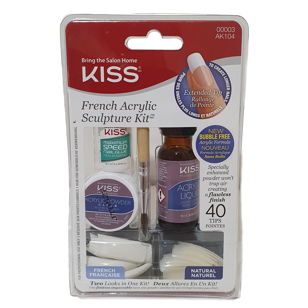 French Acrylic Sculpture Kit from Kiss | WWSM
