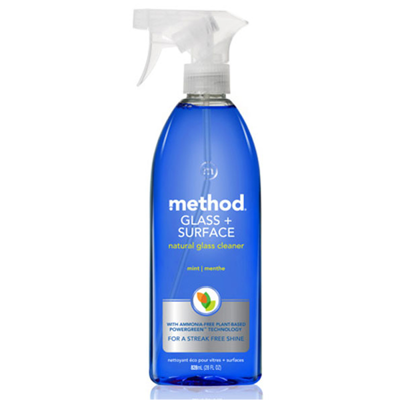 Glass cleaner spray from method wwsm for Window cleaner